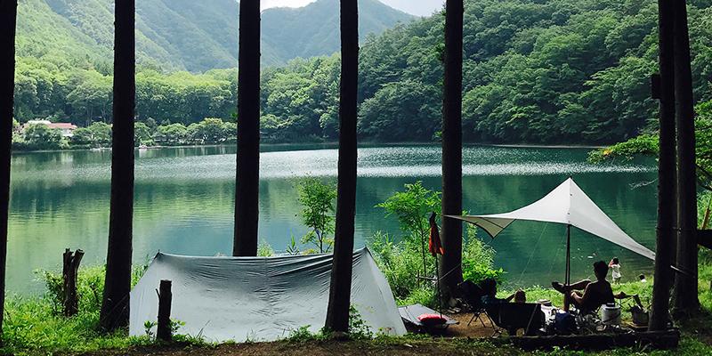 【山梨県】四尾連湖 水明荘
